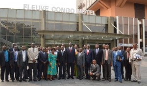 Participants at the 27th NCTTCA Council of Ministers held in Kinshasa, Democratic Republic of Congo, on 13th August 2015.